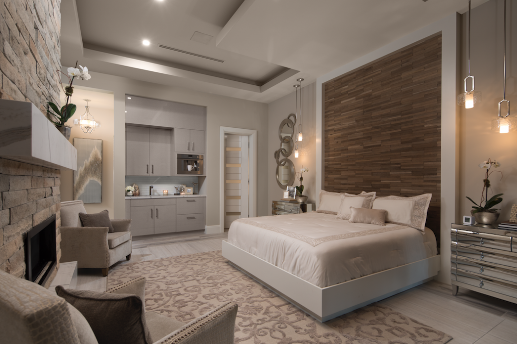 Master bedroom, The New American Home 2018