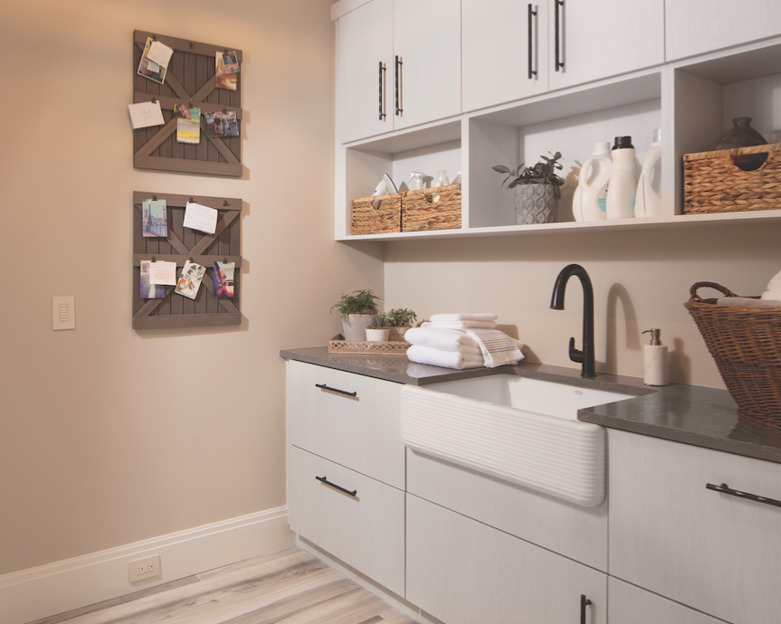 Laundry area, The New American Home 2018