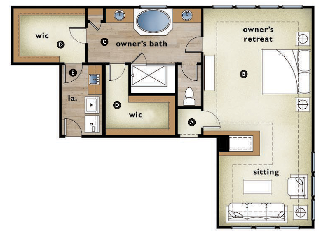 House Review: 5 Master Suites That Showcase Functionality ...
