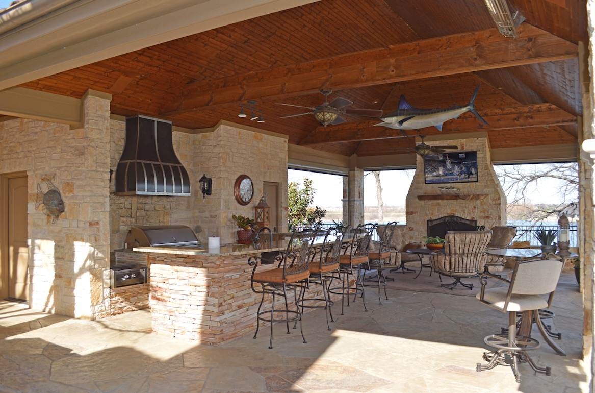 House review outdoor living spaces pro builder Outdoor living areas images