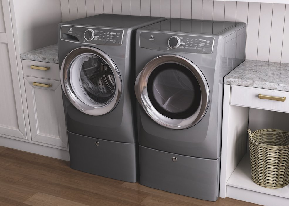 electrolux promises laundry innovation with its perfect steam washer with luxcare wash and smartboost and