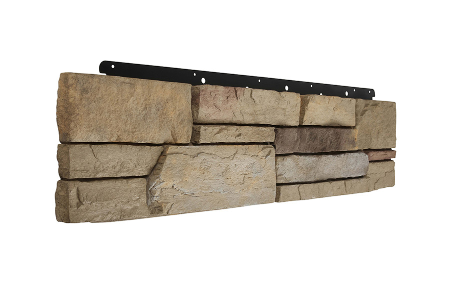 oral created Versetta Stone, a panelized nonstructural, cement-based manufactured stone veneer