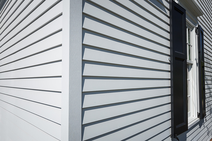 Boral Composites TruExterior Siding line offers a bevel profile, providing a contemporary, mainstream look similar to cedar or redwood clapboard