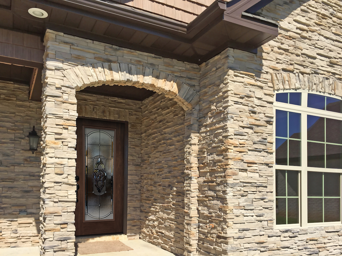 Manufactured Stone by ProVia has a range of offerings that include Natural Cut Stone