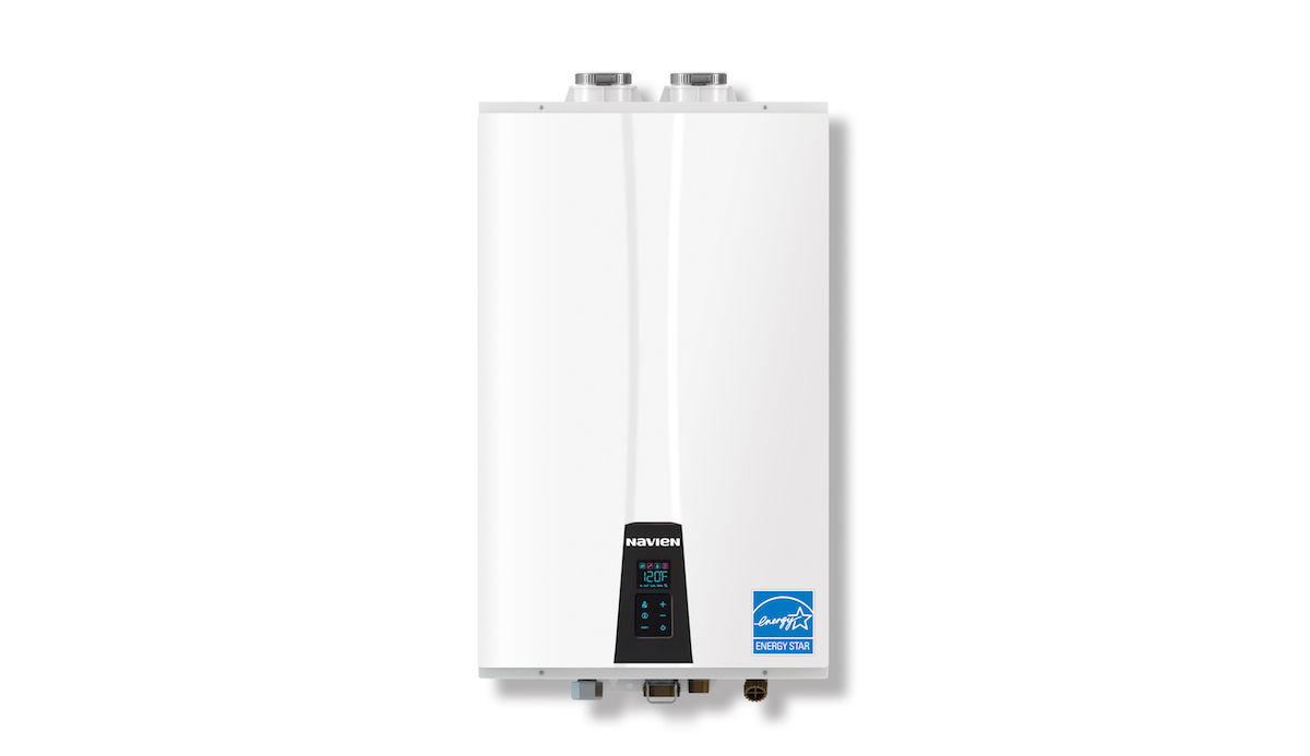 Navien Premium Efficiency (NPE) tankless  water heaters come in four output sizes