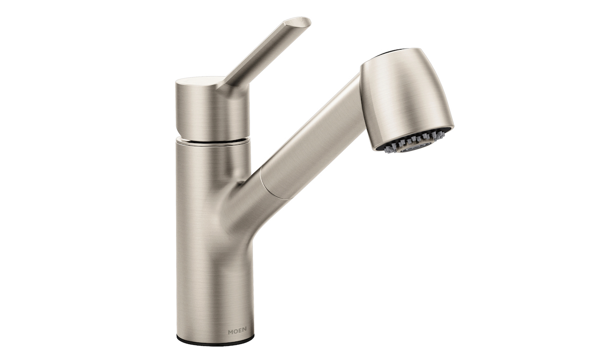 Moen, a leading maker of kitchen and bathroom faucets, fixtures, and accessories, is known for stylish and innovative products with single-handle design and a water-controlling cartridge with a pressure balancing mechanism