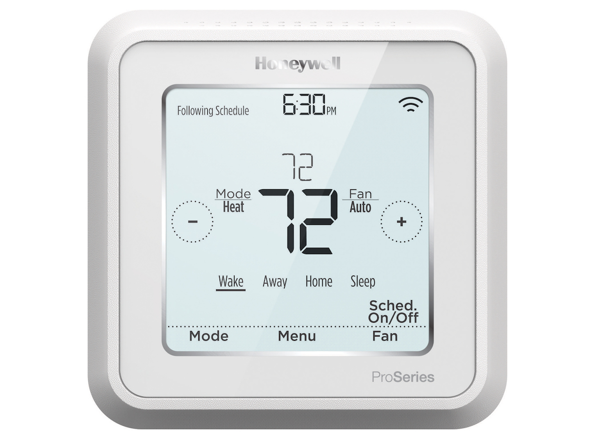 T Series Thermostats from Honeywell use the same UWP mounting system