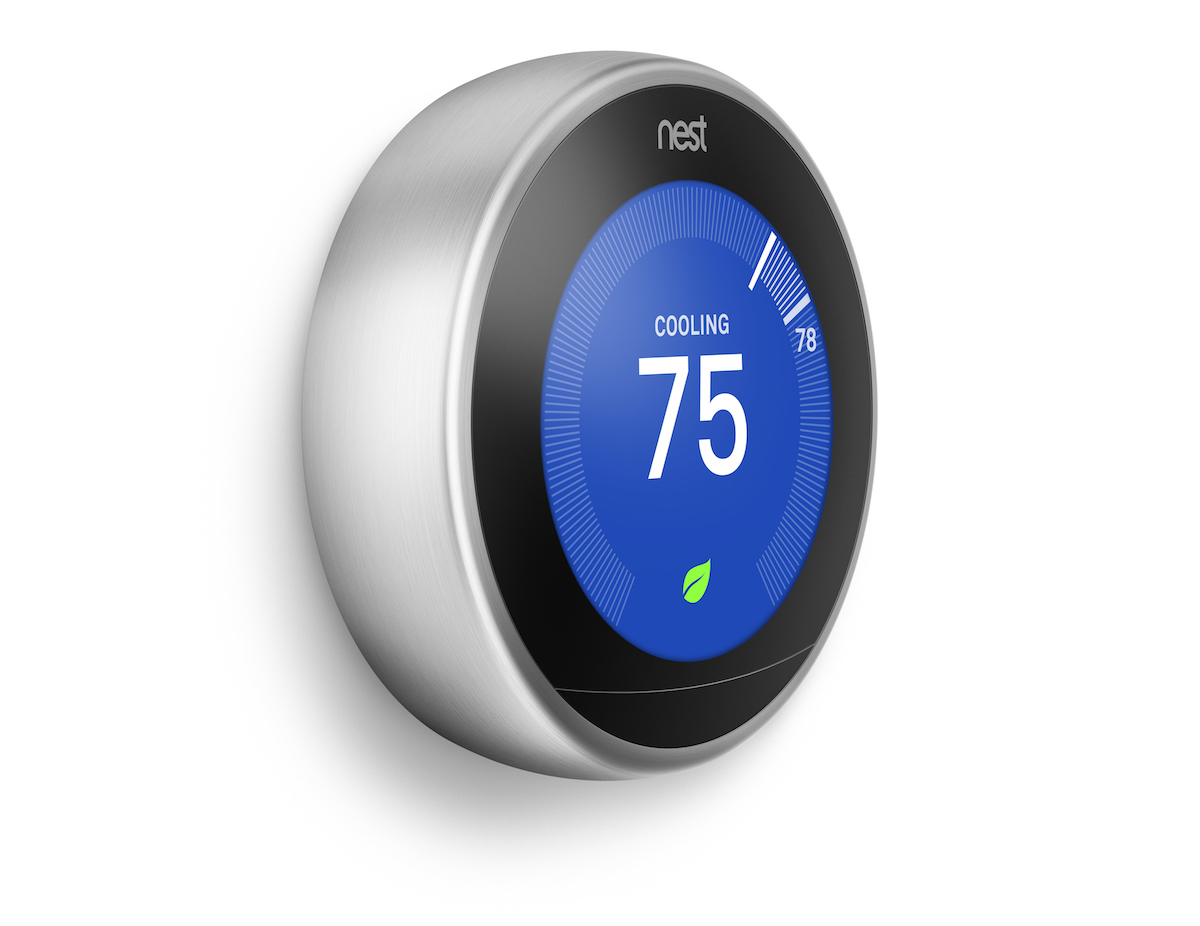 The third-generation Nest Learning Thermostat