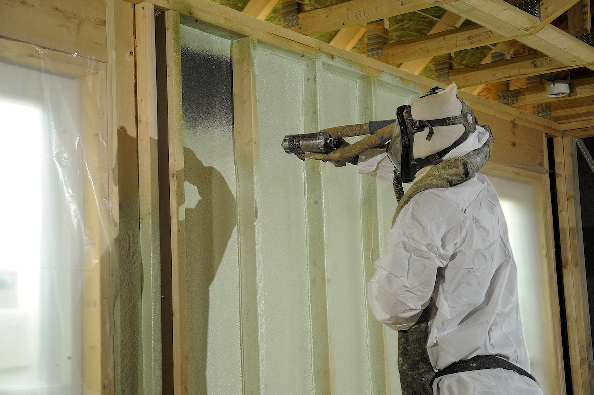 BASF spray polyurethane foam (SPF) products use zero ozone-depleting blowing agents and emit no volatile organic compounds