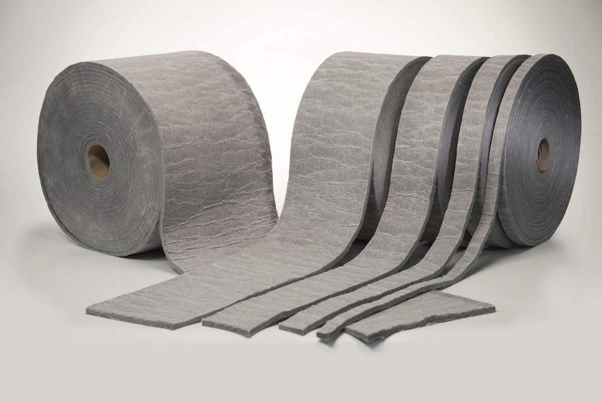The HPI-1000 Building Insulation Blanket from Dow offers significantly improved thermal resistance compared with conventional insulation products, and its thin profile, flexibility, and compression resistance allow for thermal protection in hard-to-insulate spaces