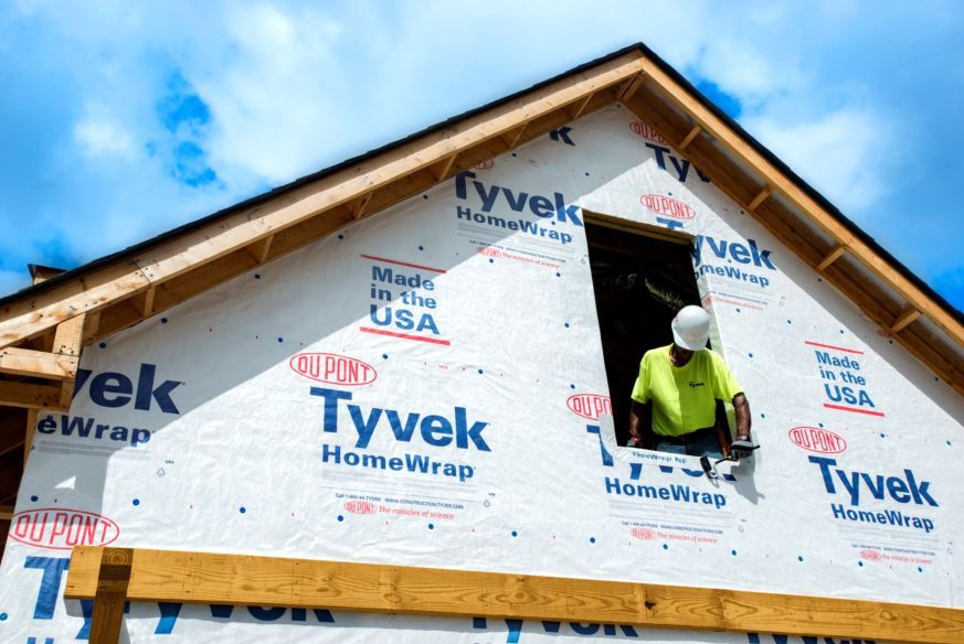 The website weatherization.tyvek.com is a resource for building envelope installation and design best practices