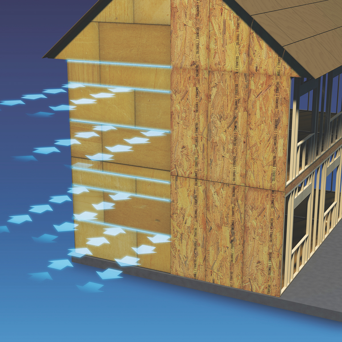 MC Norbord is a manufacturer of wood-based panels used for roof and wall sheathing, subfloors, and stairs