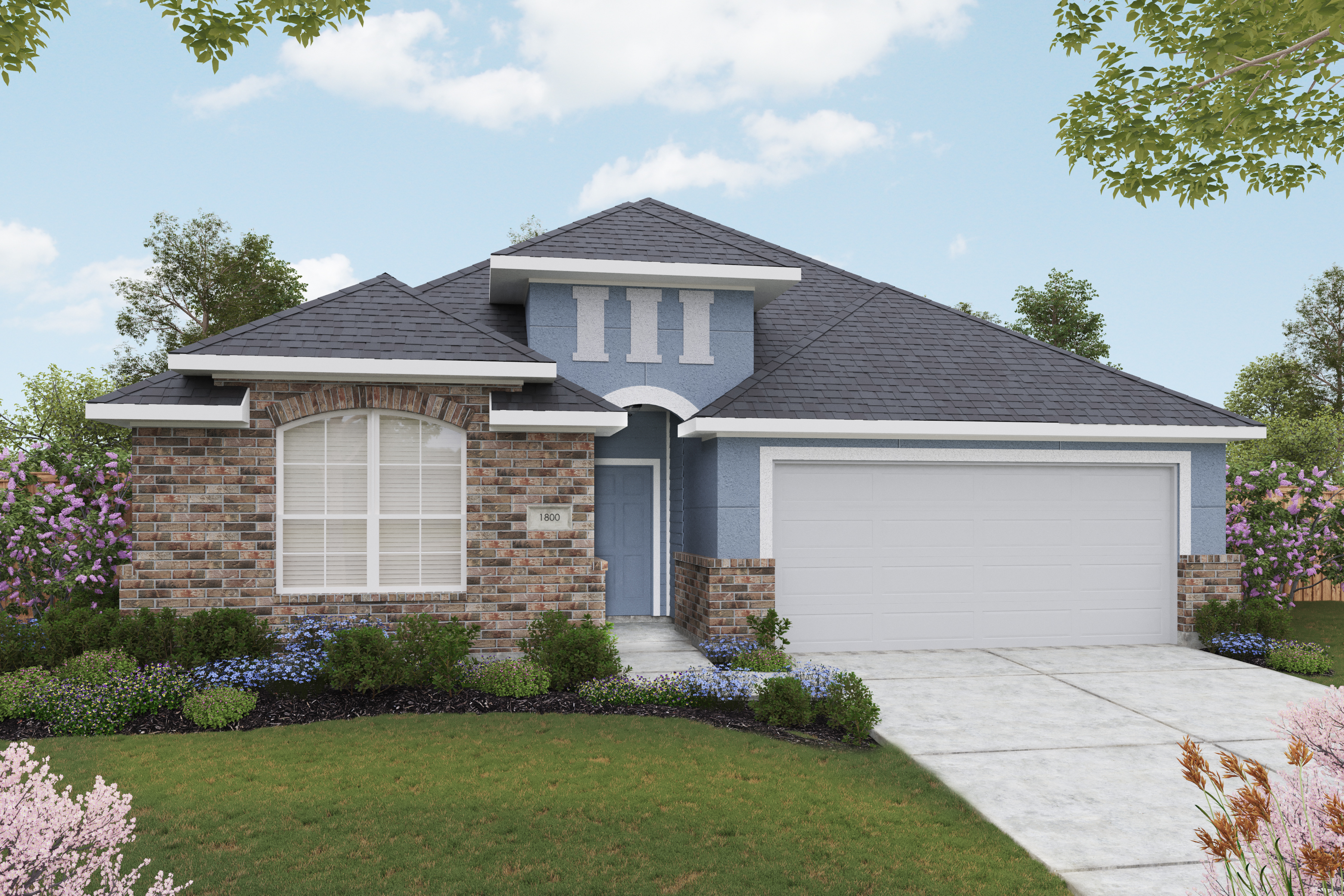 Gray Point Home Rendering 1