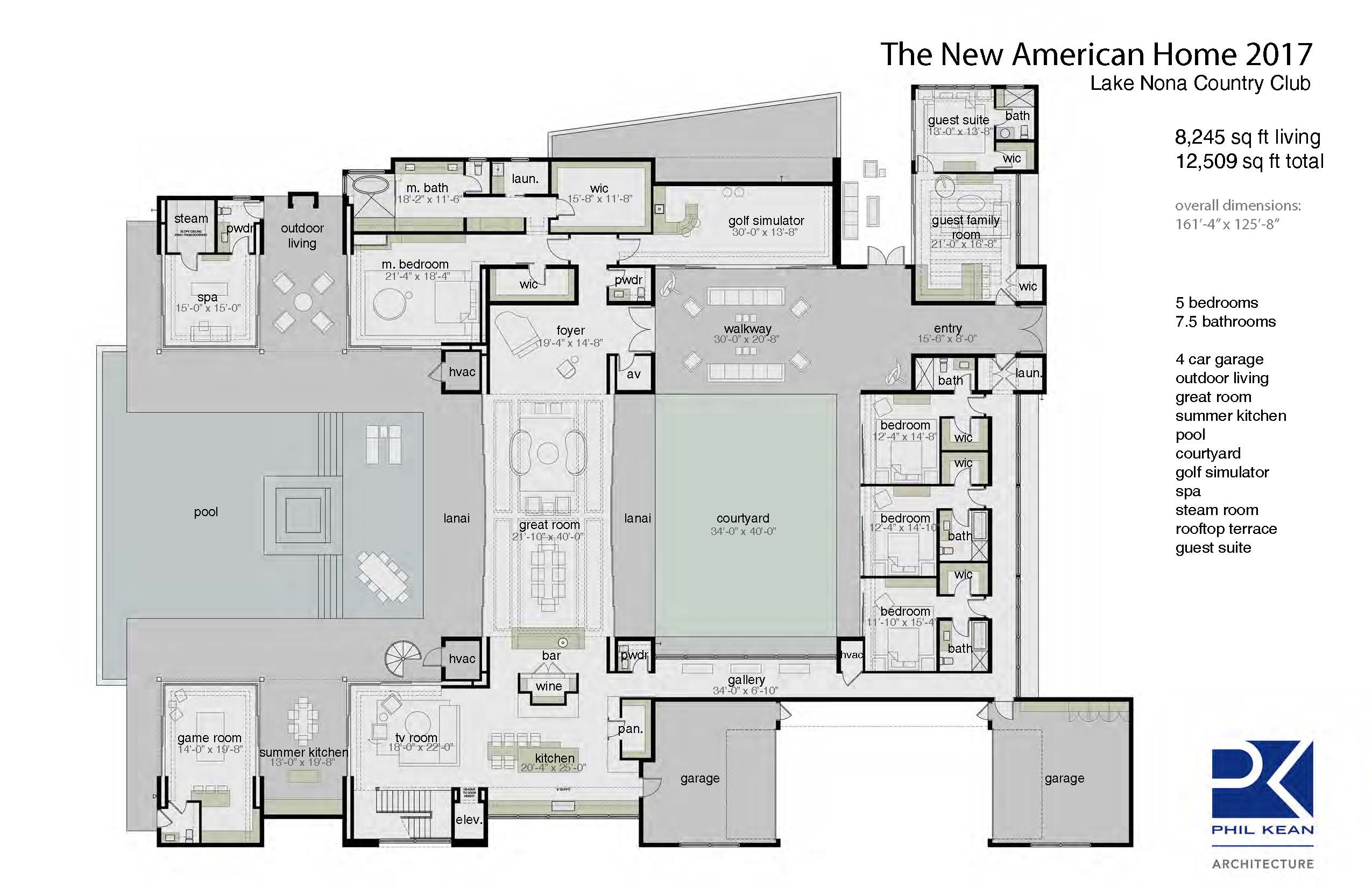 The new american home 2017 pro builder for Top rated floor plans
