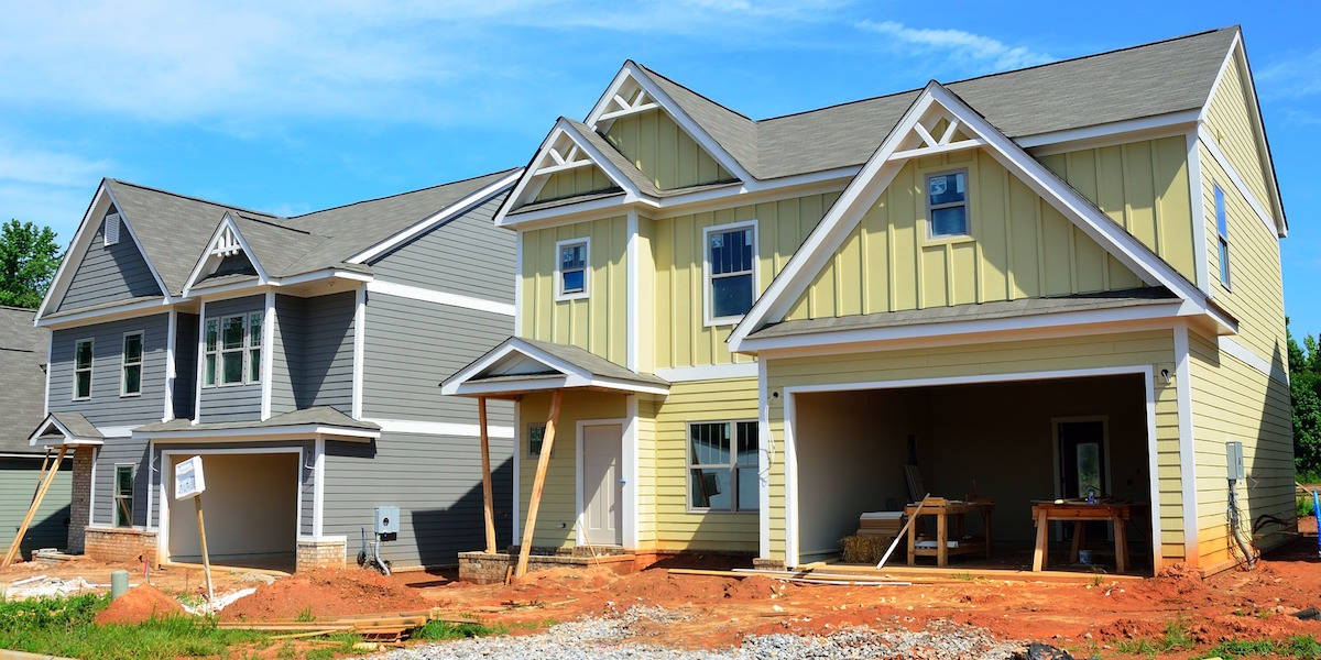 For new-home construction, there is concern regarding the accuracy, efficiency, and use of impact fees.