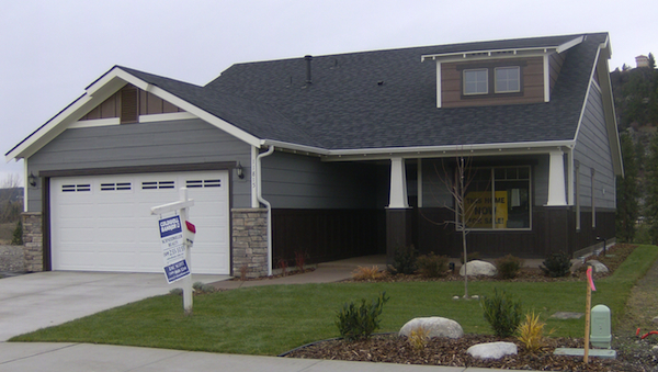 More new homes to be furnished with lp smartside siding for Lp smartside shakes coverage