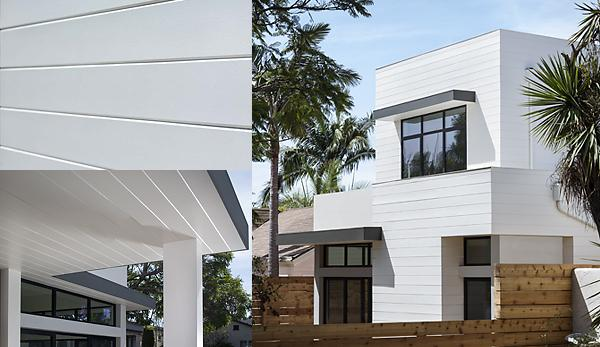 Artisan® V-Rustic siding achieves a modern aesthetic with ... on Contemporary Siding  id=54998
