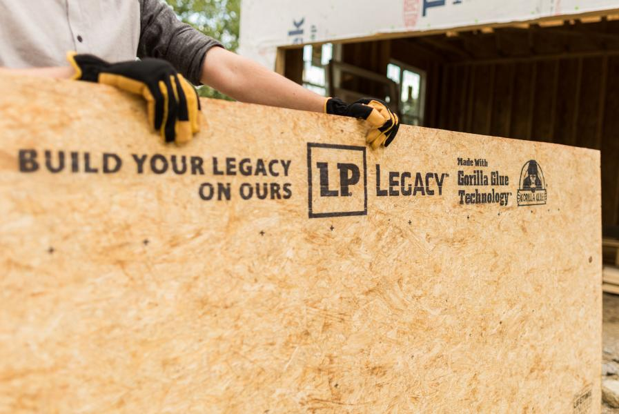 Zicka Homes Uses Lp Legacy 174 Sub Flooring For Strength And
