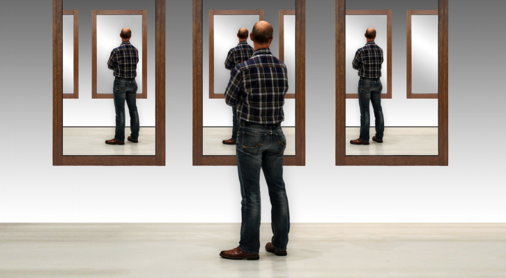 As the first step in continuous improvement: look in the mirror