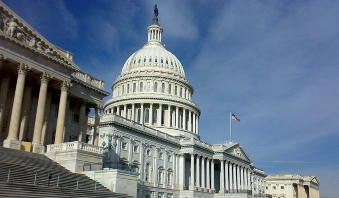 US Congress on Capitol Hill, Washington DC needs to act on housing finance reform