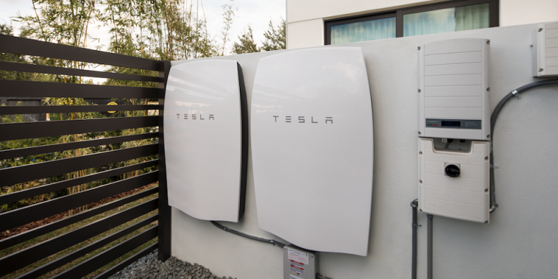 tesla powerwall batteries