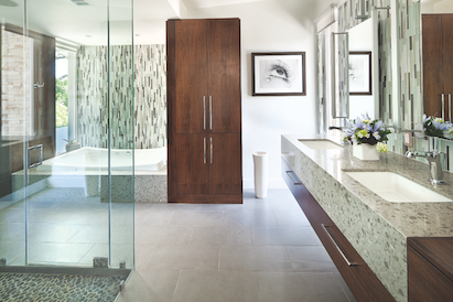 Elegant 9 New Approaches To Master Bath Design