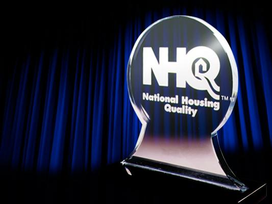 National Housing Quality Award trophy