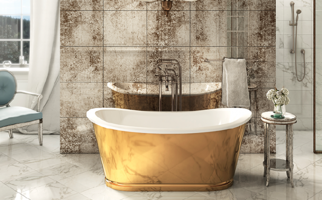Freestanding Balthazar bathtub by Crosswater London