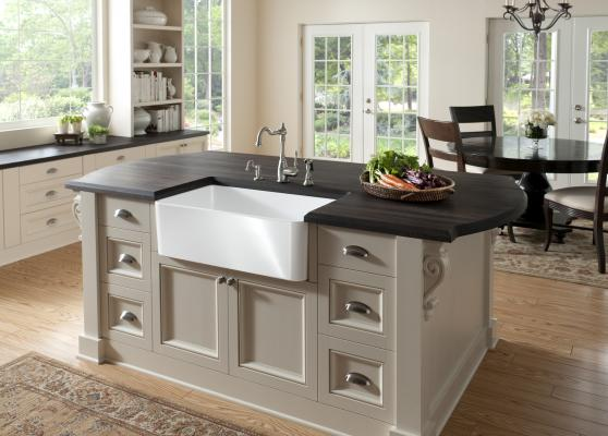 The Cerana A Front Sink From Blanco Is Brand S First Fireclay In U Fired At More Than 2 100 F For Up To 20 Hours And