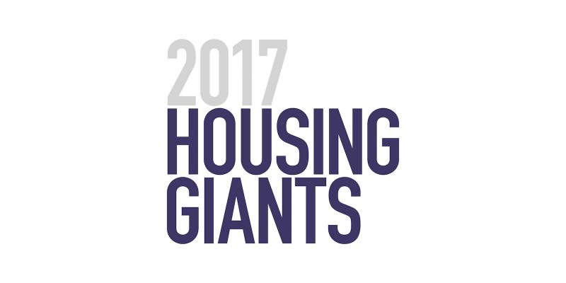 Housing Giants Rankings 2017_U.S. largest home builder_largest builders by revenue