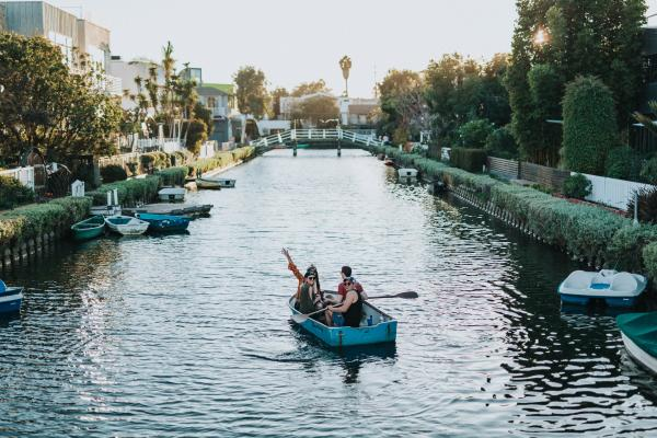 Venice Canals, Los Angeles, United States