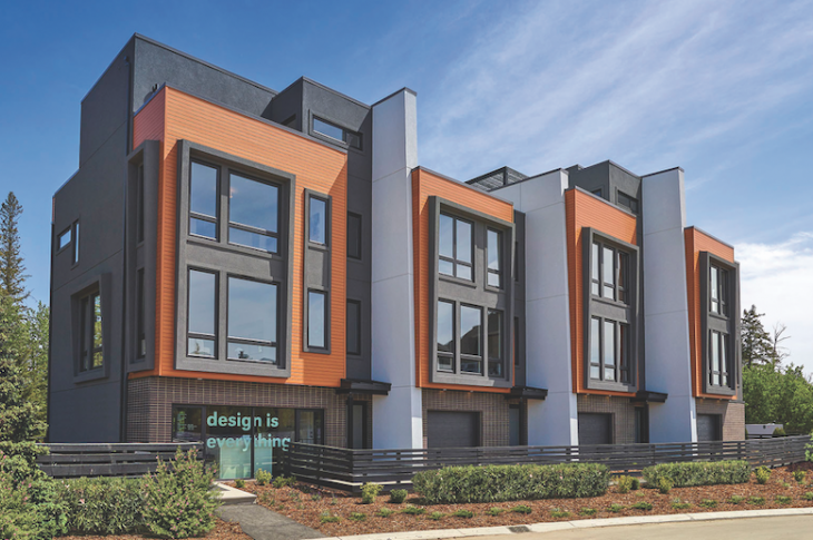 2019 Professional Design Awards Gold Multifamily exterior street view