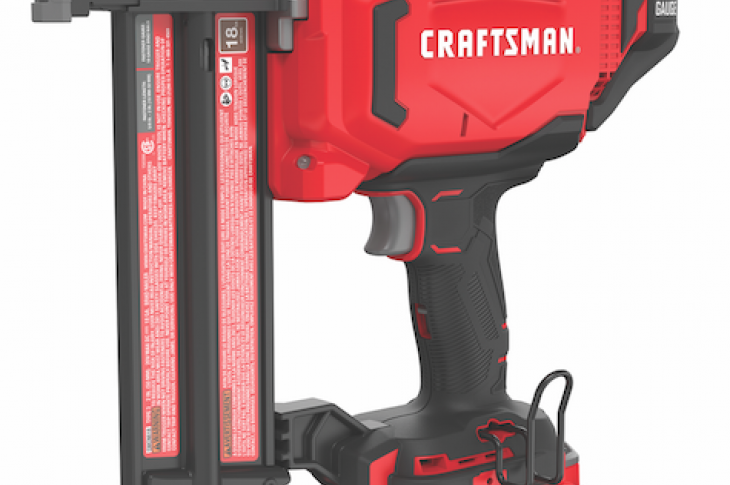 Craftsman 18 gauge finish nailer