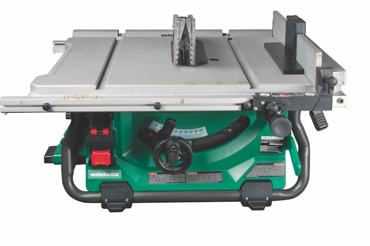 Metabo HPT MultiVolt 10-inch cordless/corded table saw