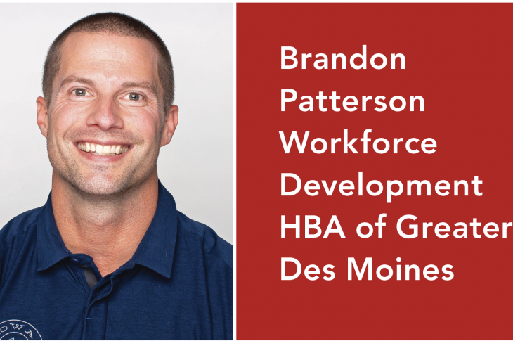 Brandon Patterson of the Workforce Development HBA of Greater Des Moines is helping solve the skilled trades shortage