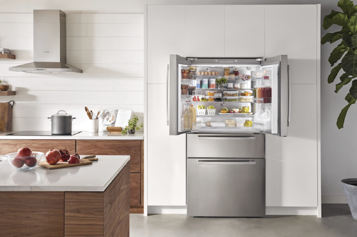 Bosch counter-depth French door fridge