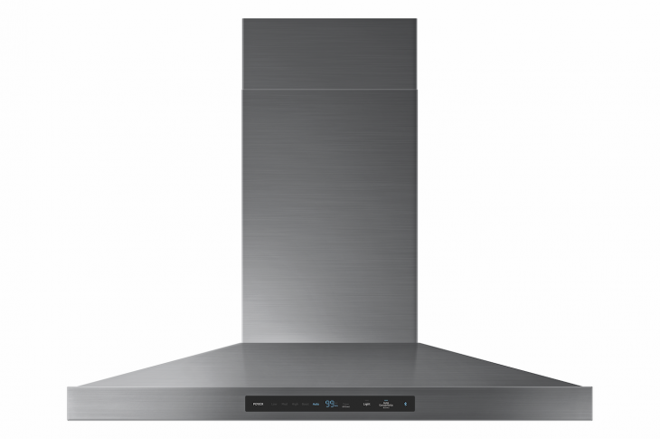 Samsung Chef Collection range hood for kitchen ventilation