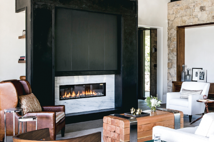 Ortal Heat Lyric line of affordable direct-vent gas fireplaces