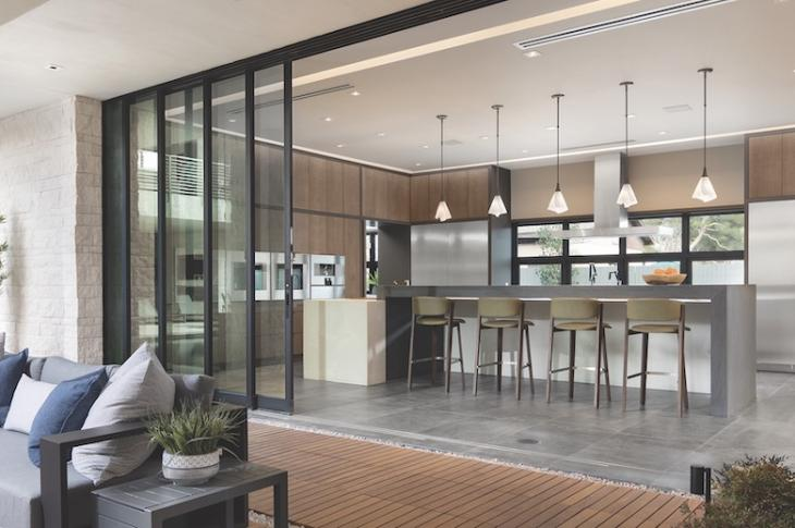 Western Windows Series 7600 multi-slide doors