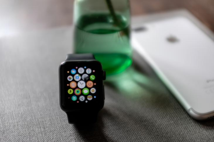 Smart watch and iPhone