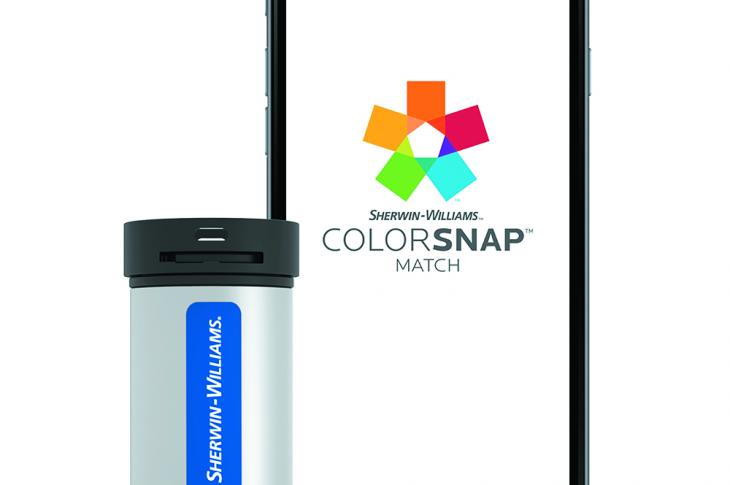 Sherwin-Williams ColorSnap Match tool