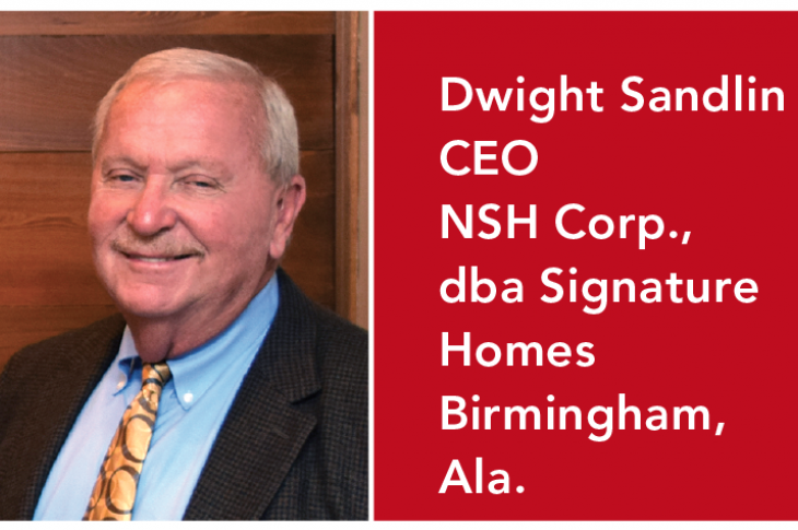 Dwight Sandlin Signature Homes