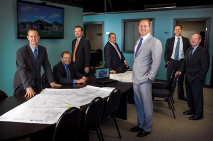 Tennessee home builder Goodall Homes' management team