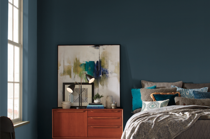 Heron, the 2018 Color of the Year from Pratt & Lambert
