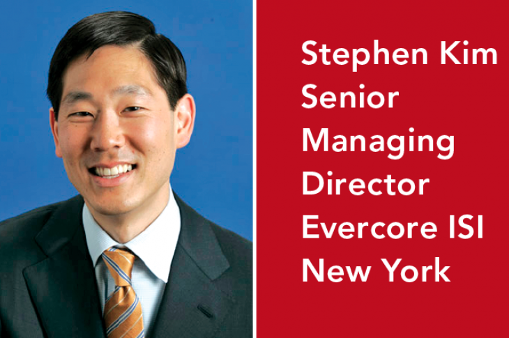 Stephen Kim of Evercore ISI