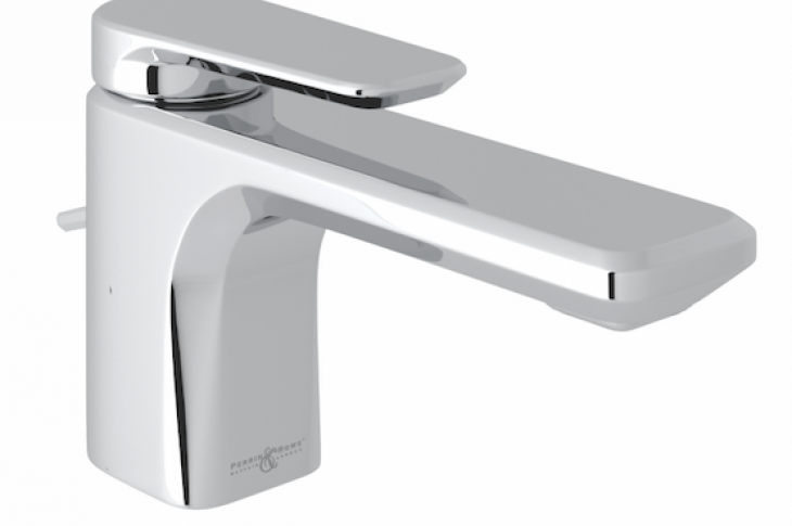 Perrin & Rowe's Hoxton single hole, single lever lavatory faucet for the bathroom