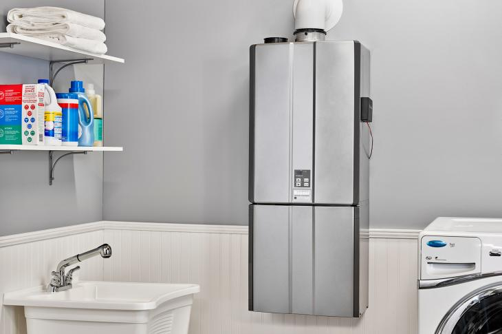Adding to Rinnai's roster of products that offer smart home system compatibility, the company's tankless gas water heaters are now Google Home-compatible and can be used with Amazon's Alexa voice assistant. The updated Control-R 2.0 module and mobile app includes more than 20 voice commands to select and schedule temperatures or turn on the hot water recirculation system.