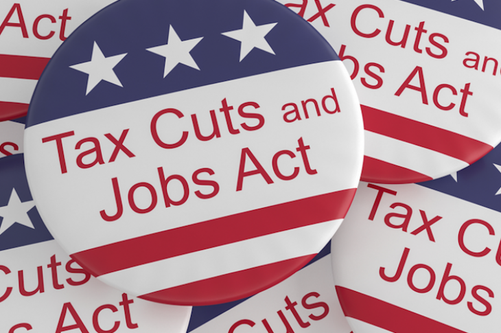 Tax Cuts and Jobs Act pins