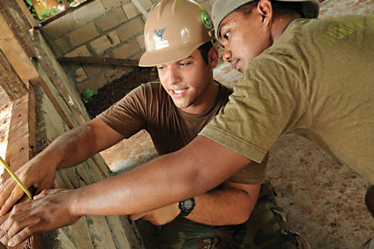 Youth on jobsite_youth consider trade careers_programs for youth in construction