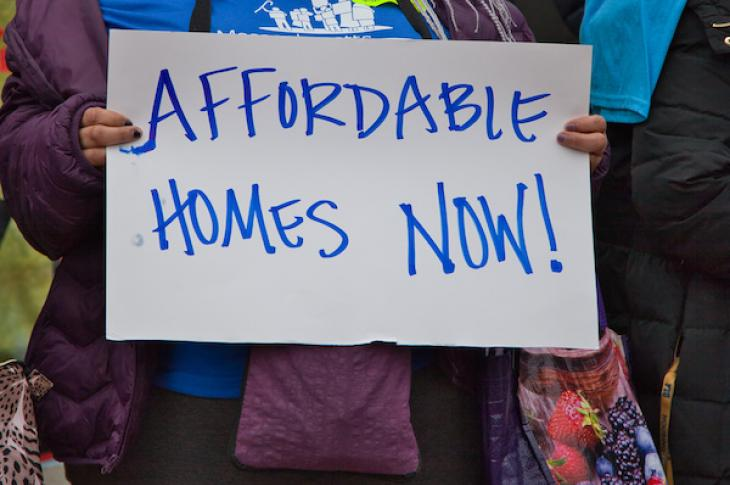 Affordable homes now